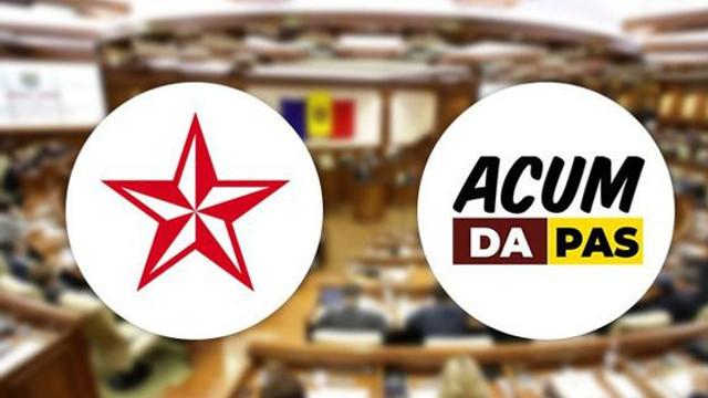 PSRM și blocul ACUM au semnat un acord instituțional. Ce presupune acesta