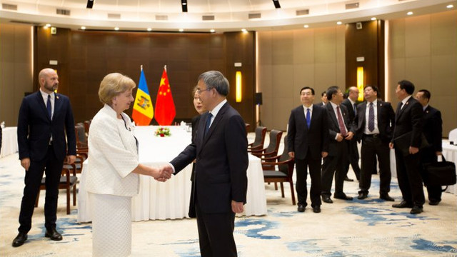 Zinaida Greceanîi a invita oficial chinezii să deschidă un parc industrial în Republica Moldova