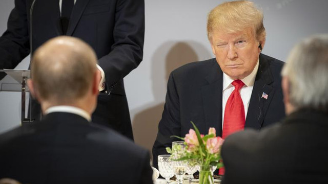 """Donald Trump a fost denunțat după ce ar fi făcut o promisiune """"tulburătoare"""" unui lider străin în ceea ce privește Ucraina"""