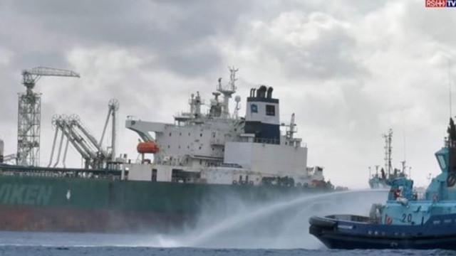 Incendiu la bordul unui petrolier în Norvegia: Sala de motoare a fost cuprinsă de flăcări