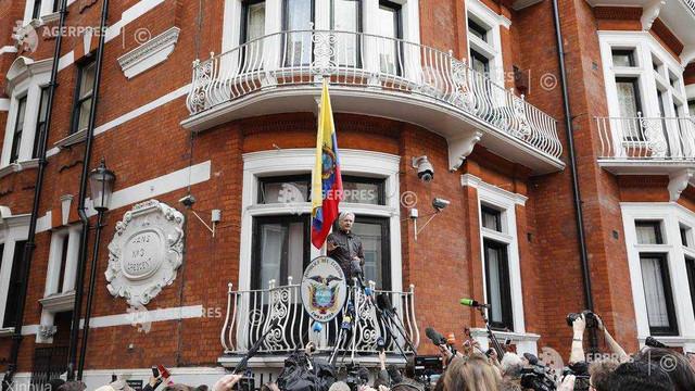 O firmă spaniolă de securitate l-a spionat pe Assange pentru CIA (presă)