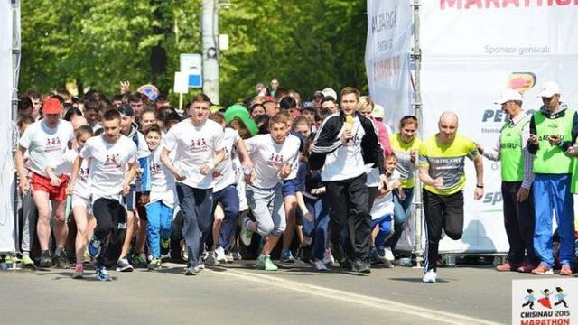Maratonul Internațional Chișinău a adunat mii de participanți