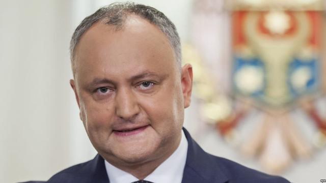 Igor Dodon a avut o întrevedere cu șeful Misiunii OSCE în R.Moldova
