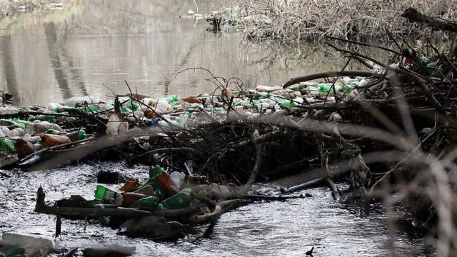 Protest din cauza mirosului care vine de la râul Bâc: Este o problemă nu doar pentru populație, ci pentru întregul ecosistem