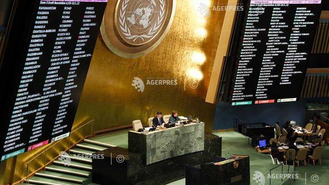 Vot la ONU privind Ierusalimul: Palestinienii salută sprijinul internaţional; Israelul respinge decizia Naţiunilor Unite