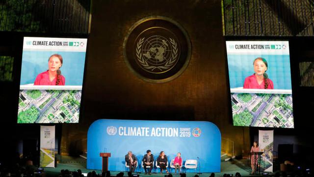 Apariție surpriză a lui Donald Trump la summitul ONU privind climatul