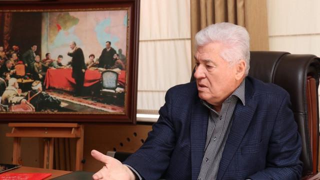 Vladimir Voronin, despre coaliția PSRM-ACUM: Dezoligarhizare sau deDodonizare?