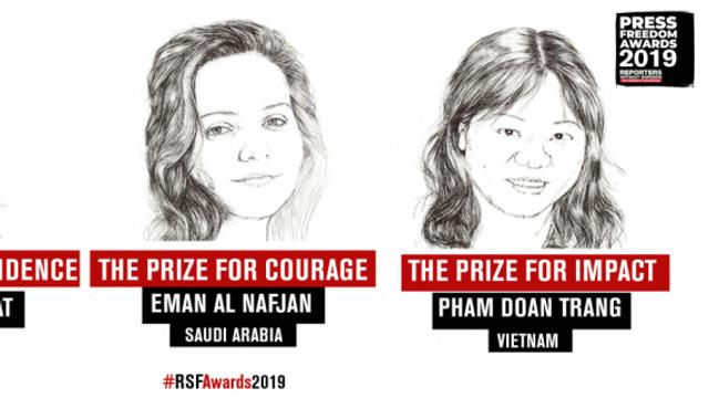 Reporteri Fără Frontiere premiază jurnaliste din Arabia Saudită, Malta şi Vietnam