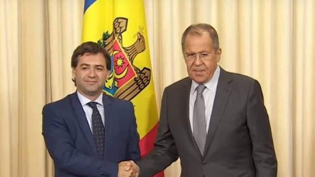 Nicu Popescu, la întâlnirea cu Serghei Lavrov: Retragerea trupelor ruse este o prioritate de bază pentru Chișinău