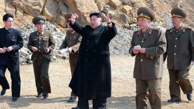 Liderul nord-coreean Kim Jong Un a supervizat un nou test al unui
