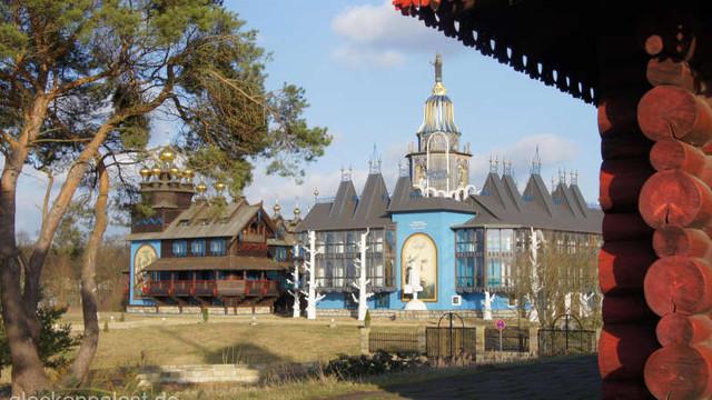 Un palat a cărui piatră de temelie a fost pusă de Mihail Gorbaciov, scos la vânzare în Germania