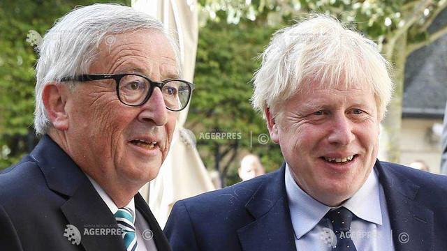 Brexit: Întâlnirea Juncker-Johnson s-a încheiat fără progrese; UE cere Londrei alternative la clauza de ''backstop''