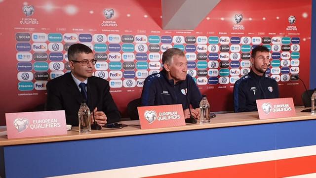 Semion Altman debutează astăzi pe banca tehnică a naționalei moldovenești de fotbal, în meciul cu Islanda