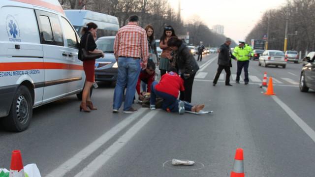 Aproape o treime din victimele accidentelor rutiere din R.Moldova sunt pietoni