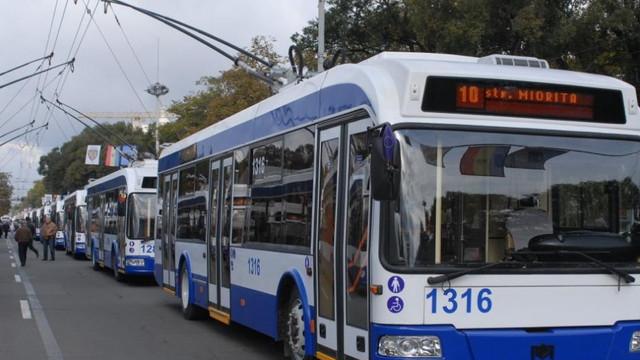Chișinău | Orar nou pentru circulația transportului public în week-end
