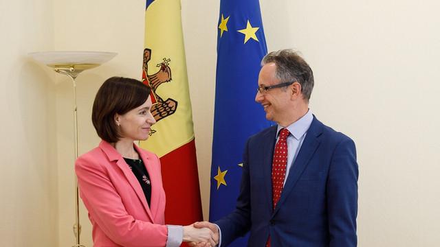 Maia Sandu a discutat cu șeful Misiunii OSCE în R.Moldova despre neutralizarea munițiilor de la Cobasna