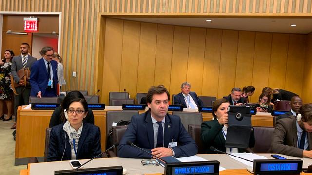 R.Moldova s-a aliniat eforturilor Alianței pentru Multilateralism în consolidarea ordinii internaționale