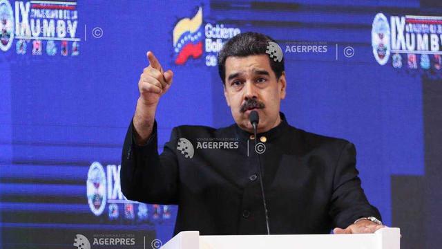 Președintele venezulean Maduro a ordonat manevre militare la frontiera cu Columbia