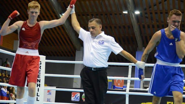 Boxerul Vladislav Gudzi a devenit vicecampion european printre tineret