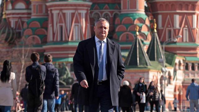 Igor Dodon s-a dus la Moscova pentru o nouă întâlnire cu Vladimir Putin