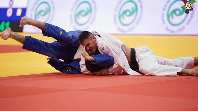 JUDO | Moldoveanul Victor Sterpu a devenit campion european printre tineret