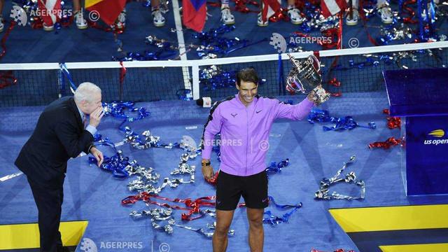 Tenis: Rafael Nadal a câștigat titlul la US Open