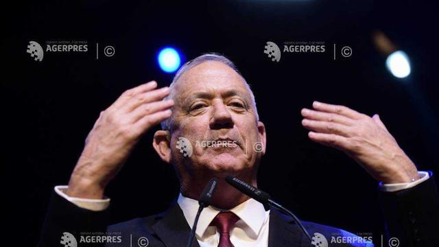 Israel: Benny Gantz declară că vrea ca el să fie prim-ministru al unui guvern de uniune națională