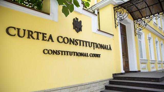 CC a respins solicitarea deputaților Partidului Democrat de a suspenda Legea privind alegerea procurorului general