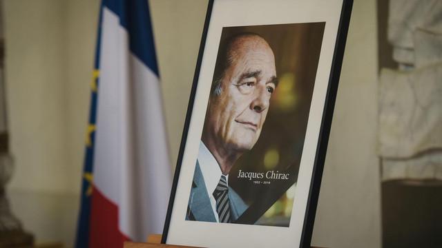 30 de șefi de stat vor veni luni la funeraliile fostului preşedinte al Franței Jacques Chirac