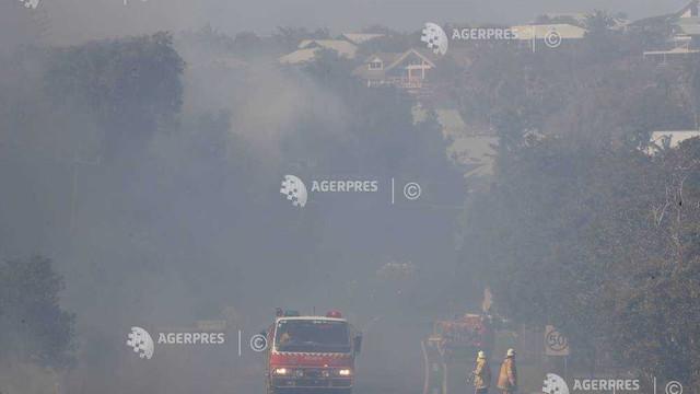 Mai mulţi copii, implicaţi în incendiile care devastează estul Australiei