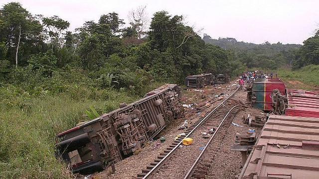 Peste 50 de persoane decedate în urma unui accident feroviar în Congo
