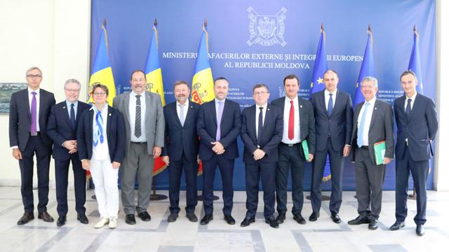 Secretarul de stat, Dinu Toderașcu, a primit la MAEIE o delegație parlamentară franceză
