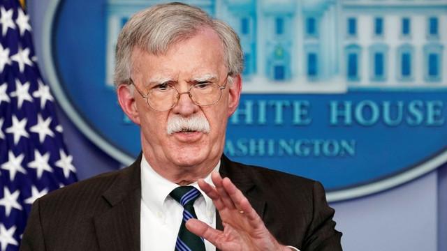Donald Trump a anunţat eliberarea din funcţie a consilierului său pentru securitate naţională, John Bolton