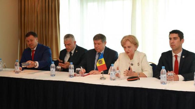 O delegaţie parlamentară a R.Moldova participă la Forumul Preşedinţilor de Parlament din ţările Eurasiatice