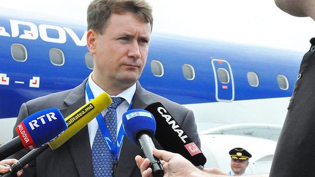 """Cine este noul director al companiei aeriene """"Air Moldova"""" ( ZDG)"""