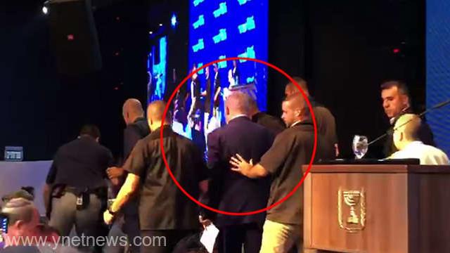 Israel: Premierul Netanyahu evacuat de la un miting electoral
