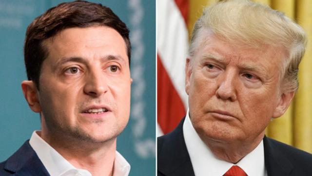 Donald Trump va face publică stenograma unei discuţii telefonice cu Volodimir Zelenski