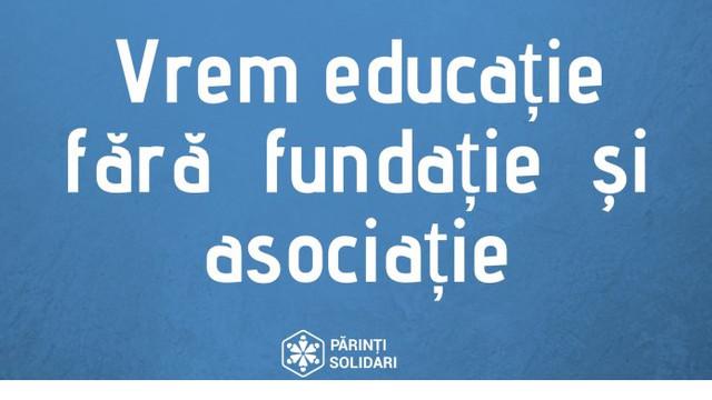 Mai mulți părinți au lansat o petiție în care cer eliminarea corupției din sistemul de educație