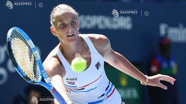 Tenis: Karolina Pliskova, a doua favorită, eliminată la Wuhan (WTA)