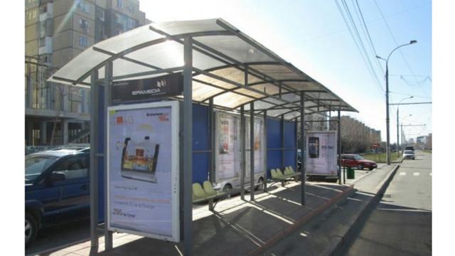 Compania gestionară promite că va renova toate stațiile de așteptare a transportului