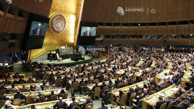 Trump la ONU: Viitorul nu aparține globaliștilor, ci patrioților