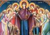 Creştinii ortodocşi de stil vechi sărbătoresc astăzi Acoperământul Maicii Domnului