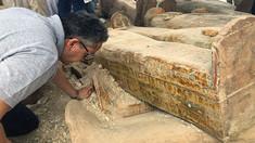 Cea mai mare descoperire din ultimii ani  - 20 de sarcofage bine conservate, în Egipt