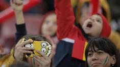 VIDEO | Momentul emoționant în care zeci de mii de copii cântă Imnul României, la meciul cu Norvegia