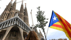 Protestatarii au blocat intrarea în catedrala Sagrada Familia din Barcelona. Turiştii şi-au anulat biletele