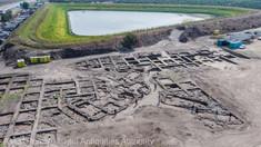 Un oraş vechi, de 5.000 de ani, descoperit în Israel: Are străzi care delimitează zonele de locuire de spaţiile publice