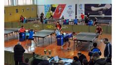 Eugen Coşciug şi Camelia Merenco au devenit campioni ai Chişinăului la tenis de masă