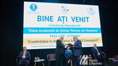 Zilele Academiei de Științe Tehnice din România se desfășoară, în premieră, la Chișinău