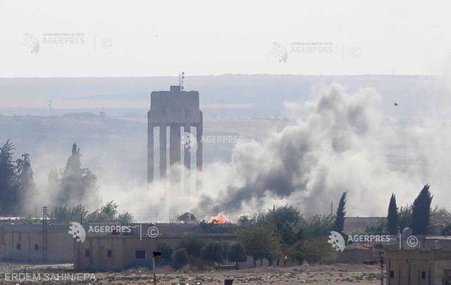 Turcia îşi intensifică ofensiva în nordul Siriei