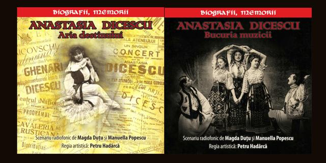 OAMENII CETĂȚII / Anastasia Dicescu - soprană de mare talent, figură de seamă a liricii basarabene în perioada interbelică (AUDIO)